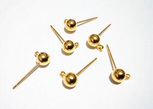 argento creare orecchini mis 3,2 x 3,2 coppia filigrane  in metallo colore oro