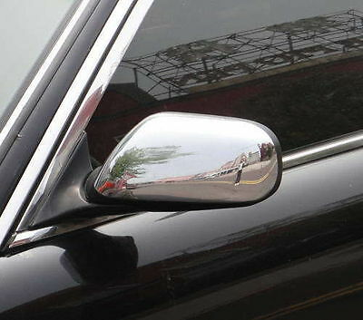CHROME Wing Door Mirror Covers for Jaguar XJ XJ6 XJ8 X308 97-03 & XK X100 96-06