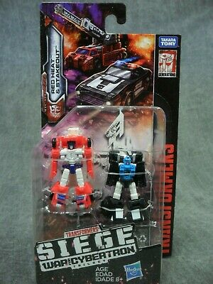 IN HAND * Transformers Siege War for Cybertron Micromaster Red Heat /& Stakeout