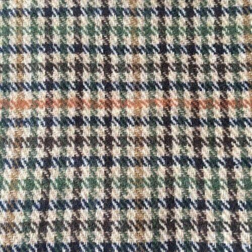 Nouveau Teviot Tweed Laine//Polyester Tissu Prix Par 1//2 Mètre