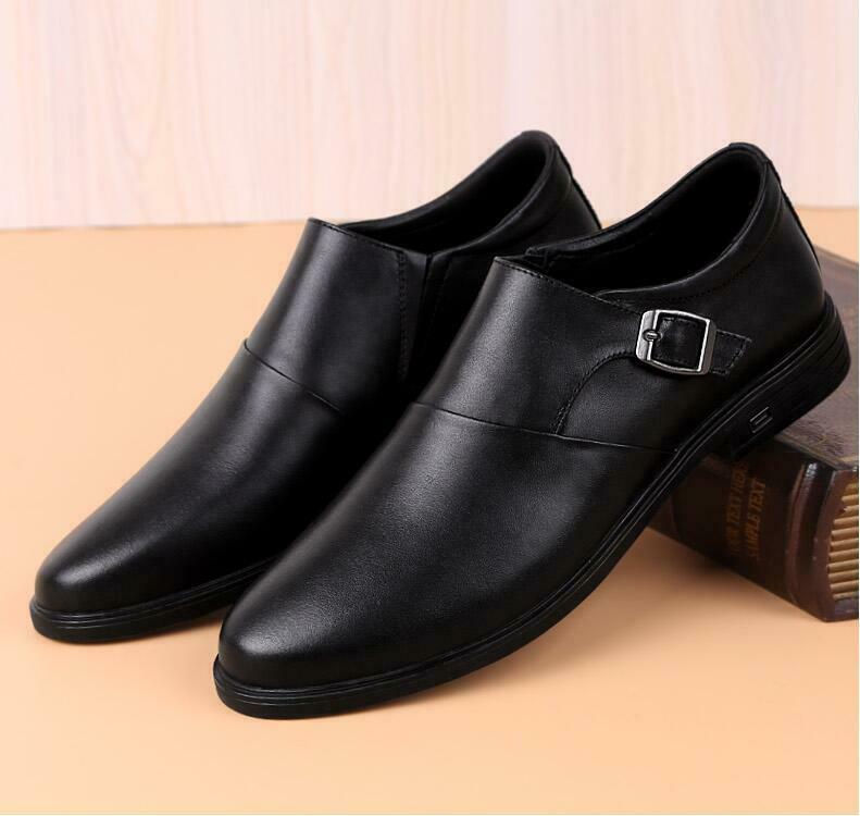 a430c7e78327 Elegant British Style Oxfords Formal Leather Buckle Dress shoes Sz Mens  Business nqwyom6190-Men s Formal Shoes