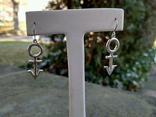 Prince Super RARE Early Symbol Earring 1991 Promo NPG Androgyny Rare Silver