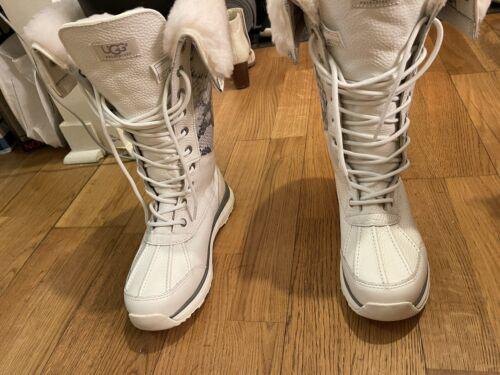ugg adirondack white snake boots