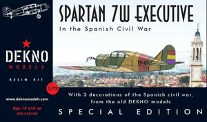 Spartan-7W-Executive-Spanish-Civil-War-DEKNO-models-1-72-resin-kit
