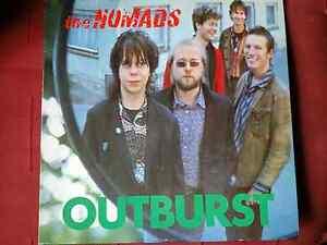 THE NOMADS. OUTBURST(1984) HOMESTEAD RECORDS. VINYL LP