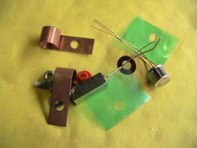Brillant Transistor 2n697/ac124 Germanium Set Npn/pnp 10463 Dauerhafte Modellierung