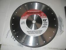 """Milwaukee 12"""" Dry Cutting Diamond Blade"""