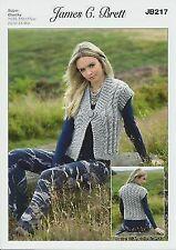 4263 Sweater /& Slipover King Cole Knitting Pattern 71//76-112//117cm