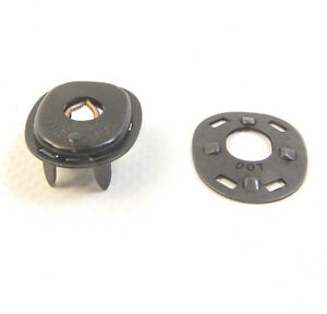 Lift The Dot Fastener's, Black Oxide, Socket & Backing Plate, 10 Pieces
