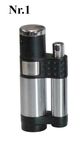 4 Diverse Colori V-Fuoco Torcia Accendini Gasfeuerzeuge
