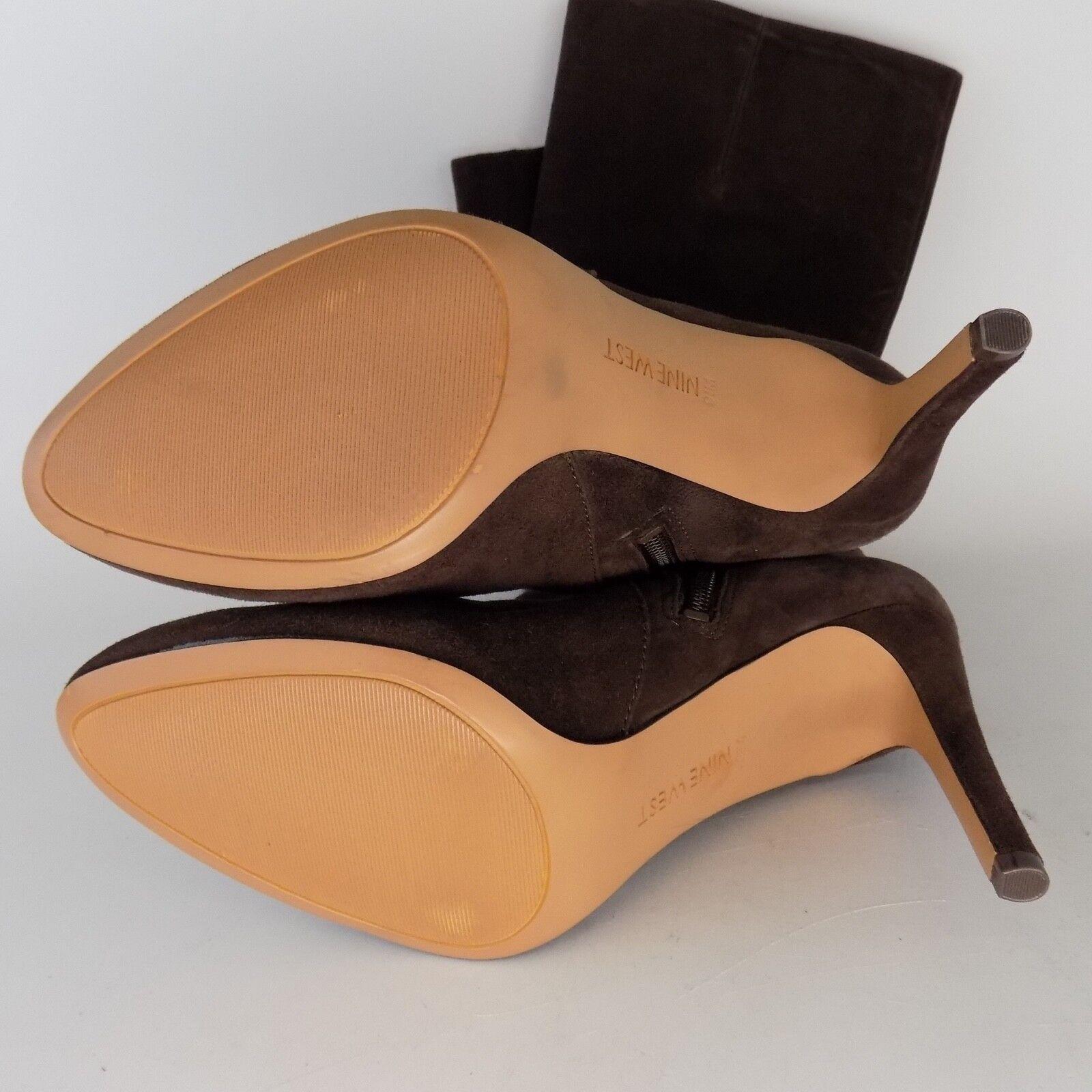 Nine West Passtime Brown High Women Boots Size 9.5 9.5 9.5 M AL2784 c0506c