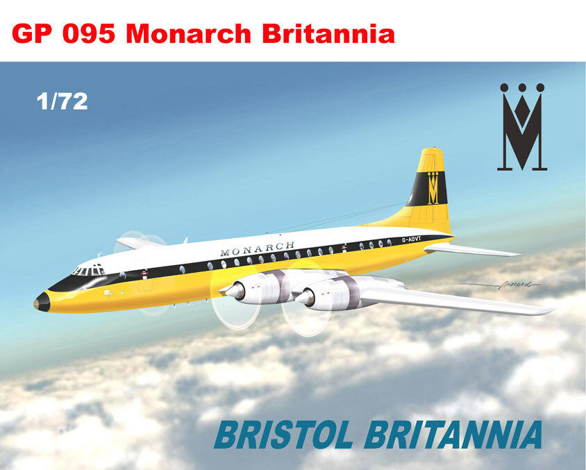 Mach 2 1 72 Bristol Britannia Monarca  Gp095