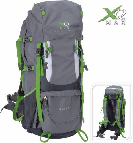 XQmax Wanderrucksack 60L Rucksack Reiserucksack Trekking Outdoor Rucksack