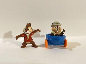 "Set of 4 1991 Kellogg/'s Disney /""CHIP /'N/' DALE RESCUE RANGERS/"" PVC Figures"