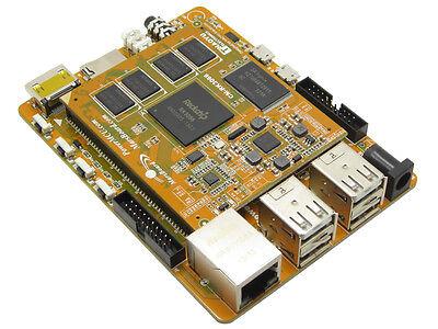 MarsBoard A20 mini PC 8GB Flash 1GB DDR3 ARM DualCore Cortex-A7 CPU Mali-400 GPU