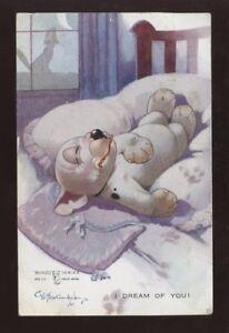 GB 1926 PPC POSTAGE DUE CANADA..BONZO DOG ARTIST STUDDY