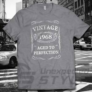 Aged Perfection To Birthday 50th Regalo 50 1968 Maglietta Vintage eWrCBodx