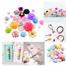 10X Cute M Bean Diy Hairpin Phone Decor Crafts Scrapbook Dollhouse Decoration TO
