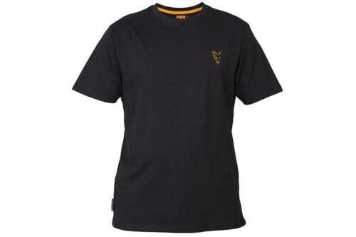 Fox Collection Noir Orange T-Shirt