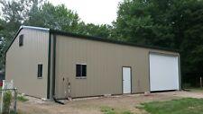 40x50x14 Steel Building Simpson Garage Storage Shop Metal Building Kit