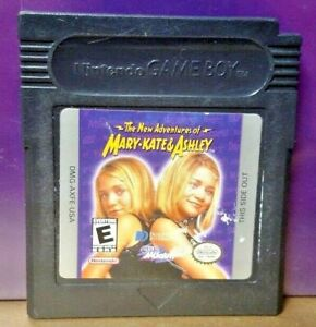 Mary Kate Ashley Adventrues Game Boy Color GB TESTED GBA Advance GBC Nintendo