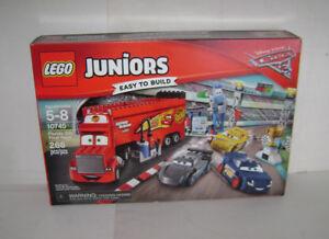 New 10745 Lego Junior Florida 500 Final Race Building Toy Disney Mack Mcqueen A Ebay