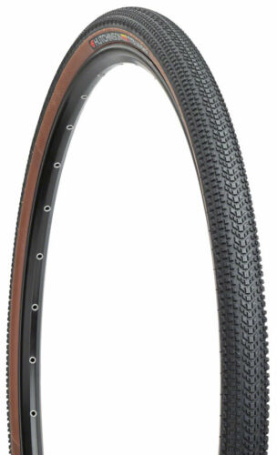 700 x 40 Hutchinson Touareg Gravel Tire Tan Tubeless 127tpi Hardskin