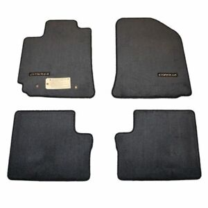 2003 2008 Corolla S Floor Mats Dark Gray Carpet Genuine Toyota Pt206 02051 01 Ebay