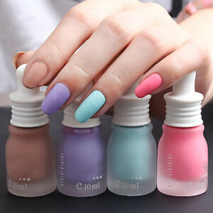 Image Is Loading New Fragrance Frosted Matte Bottle Nail Polish Candy
