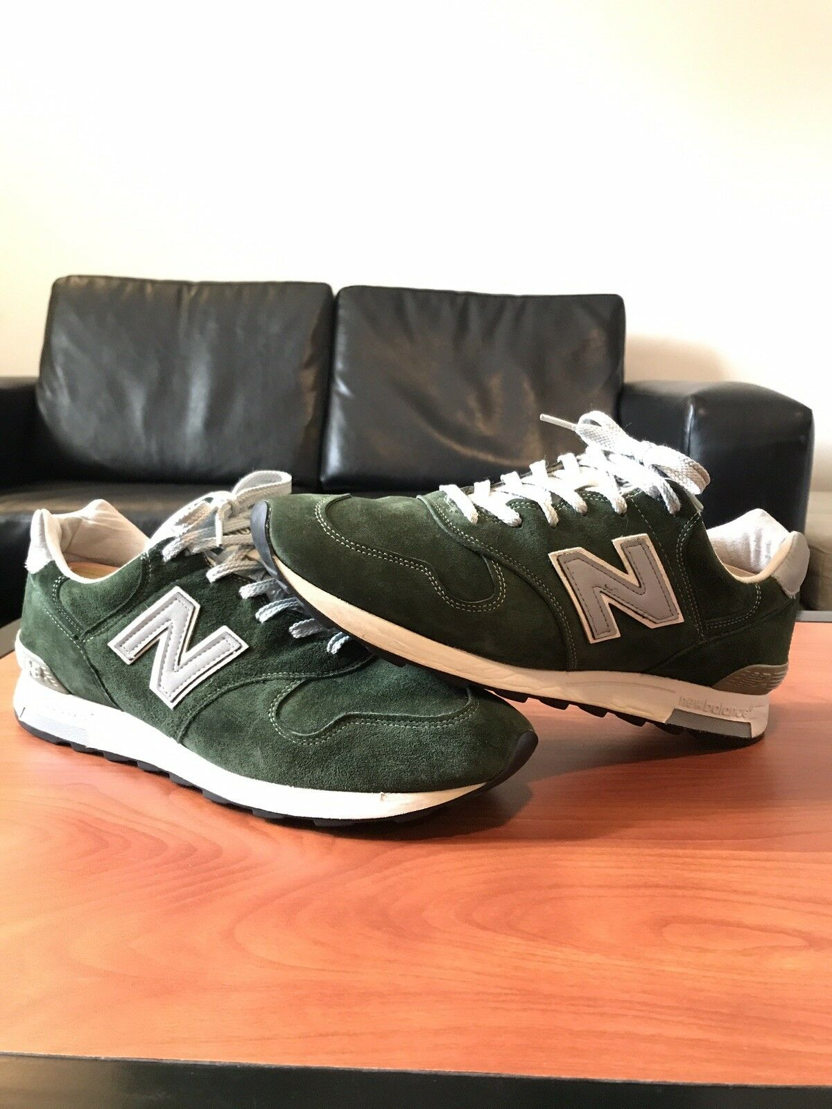 aabda39e36 New Balance JCrew M1400MG Pine Forest Green Size 12 Made In USA Kith  Concepts