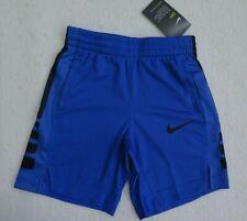 Nike Little Boys Basketball Shorts Photo Blue Anthracite Polyester New
