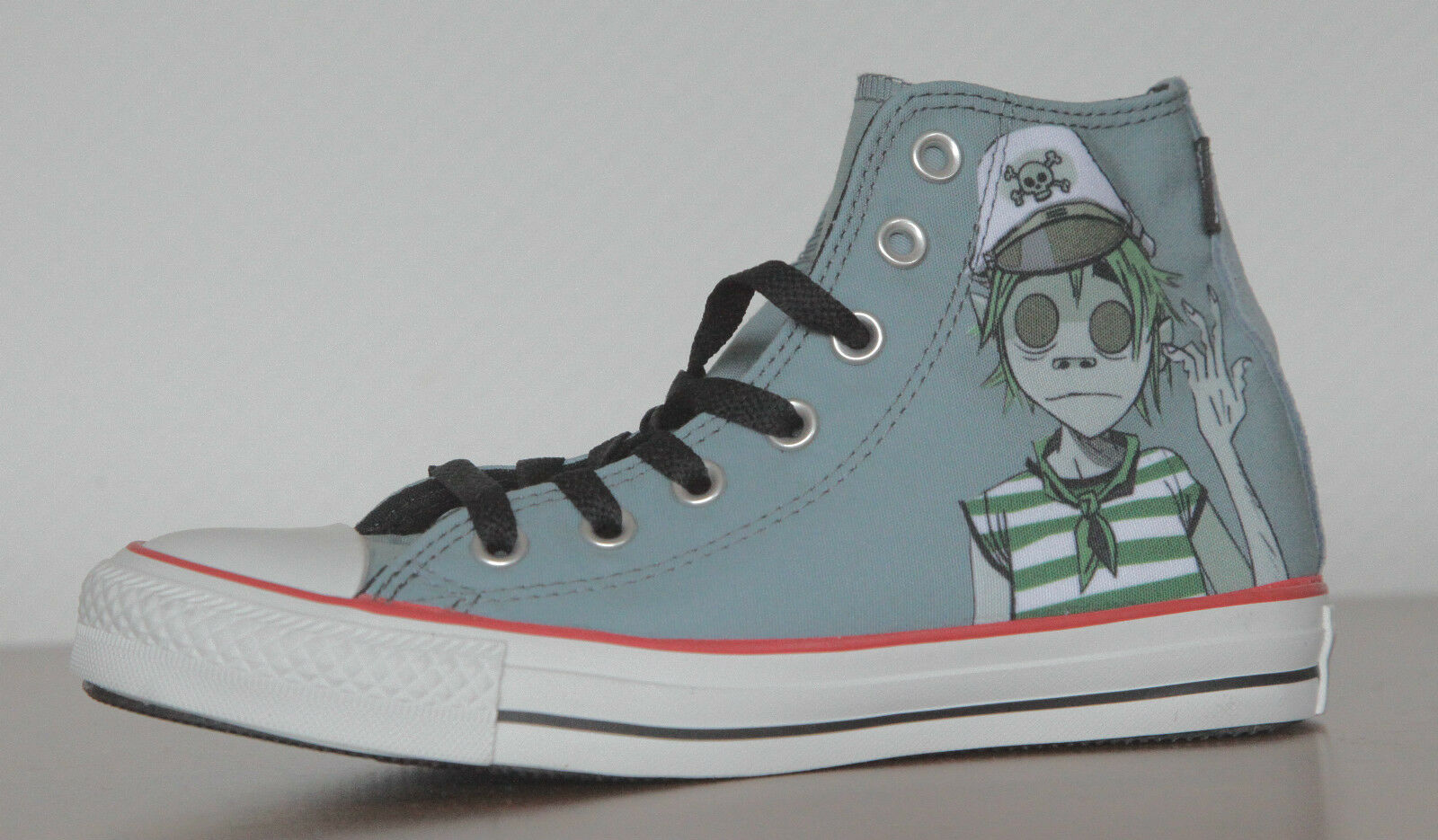 NUOVO All Star Converse Sneaker Chucks 132177c CT HI lead Gorillaz tg. 35