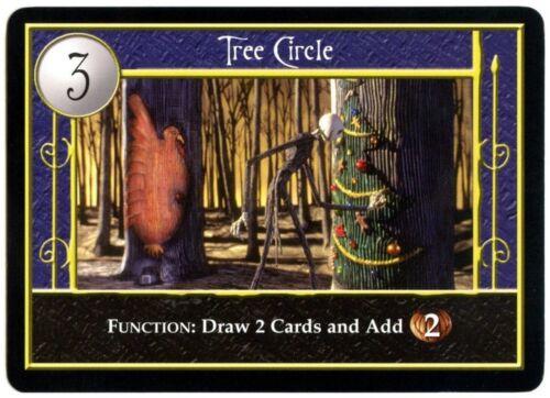 Tree Circle Nightmare Before Christmas Uncommon 2005 Neca Locales TCG Card C1755