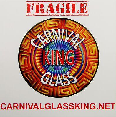 CARNIVAL GLASS KING