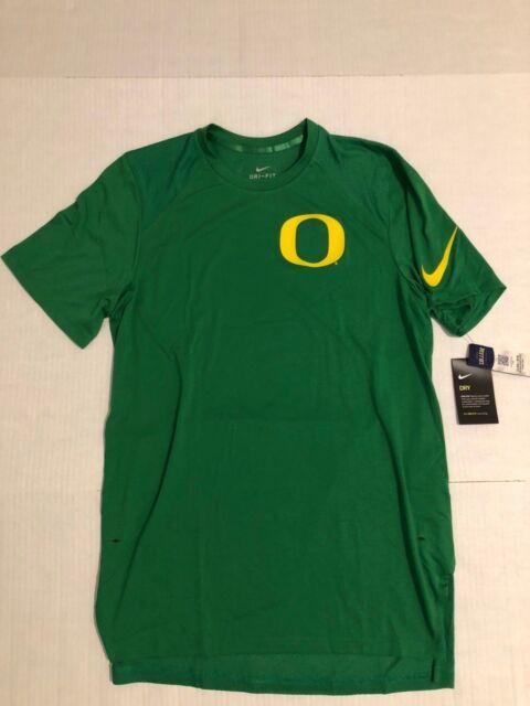 the best attitude 638bb 6fbb4 Nike Short Sleeve Dri-fit 2017 Oregon Ducks Basketball Shooter Shirts L