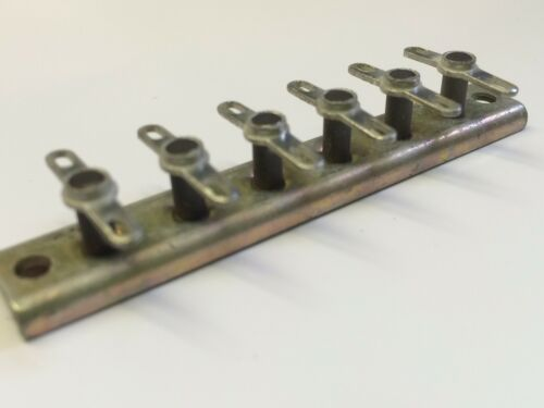 6 WAY IN CERAMICA STAND-OFF TAG connessione morsetto morsettiera Jackson BROS x1 fbb22u