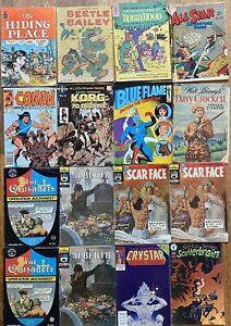 Vintage Bulk Lot Mixed Comic Books Rare Collection Random Bundle X16 Disney Etc