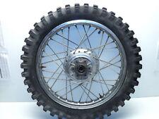 Yamaha DT360 DT 360 Enduro #5059 Chrome Rear Wheel & Tire