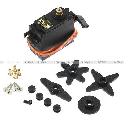 RC Servo MG995 Metal Gear High Speed Torque of Airplane Helicopter Car Boat D