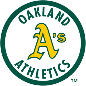b Oakland Athletics vinyl sticker for skateboard luggage laptop tumblers car