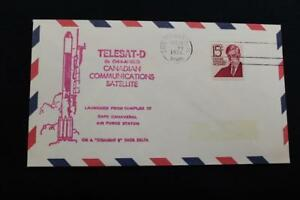 Espacio-Cubierta-1978-Maquina-Cancelado-Telesat-D-Canada-Comunicaciones-Sat-Lau