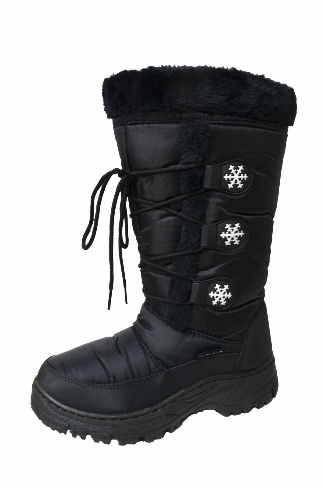 Women's Water Resistant Insulated Winter Snow Boots Fleece Lining Snow Marley-03
