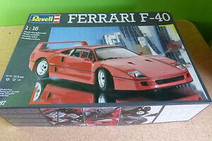 Rare FERRARI F40 Revell 7487 1:16  Neuve dans boite dorigine - Rare de 1990