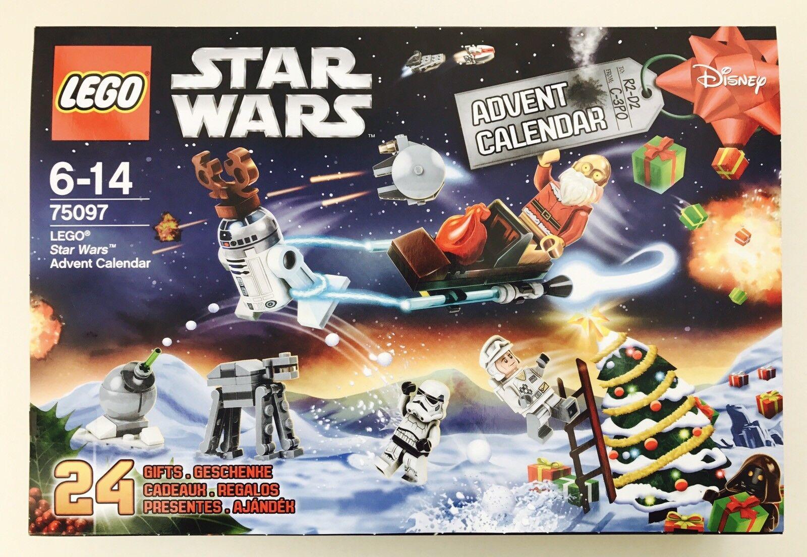 LEGO STAR WARS - 2015 ADVENT CALENDAR (75097) NEW SEALED