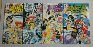 The-Dirty-Pair-Sim-Hell-1-2-3-4-NM-COMPLETE-SET-Dark-Horse-Comics-Lot-of-4