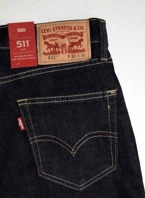 100% Vero Levi's 511 Attillato Elasticizzato Stile Jeans : 045110535 Ampia Selezione;