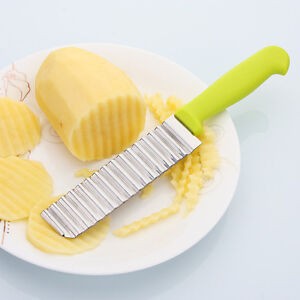 Stainless-Steel-Potato-Wavy-Cutter-Vegetable-Fruit-Knife-Slicer-Kitchen-Tools