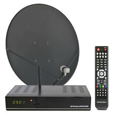 GEOSATpro HDVR3500 FTA Complete HD/DVR Satellite System with IPTV