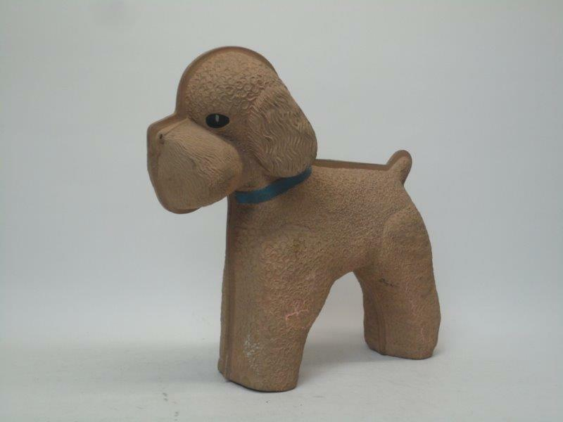 Vintage Schrader Rubber Dog Water Bottle Made In England Collectable J3