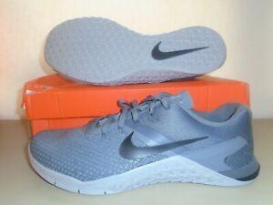 New Nike Metcon 4 Grey Black Training